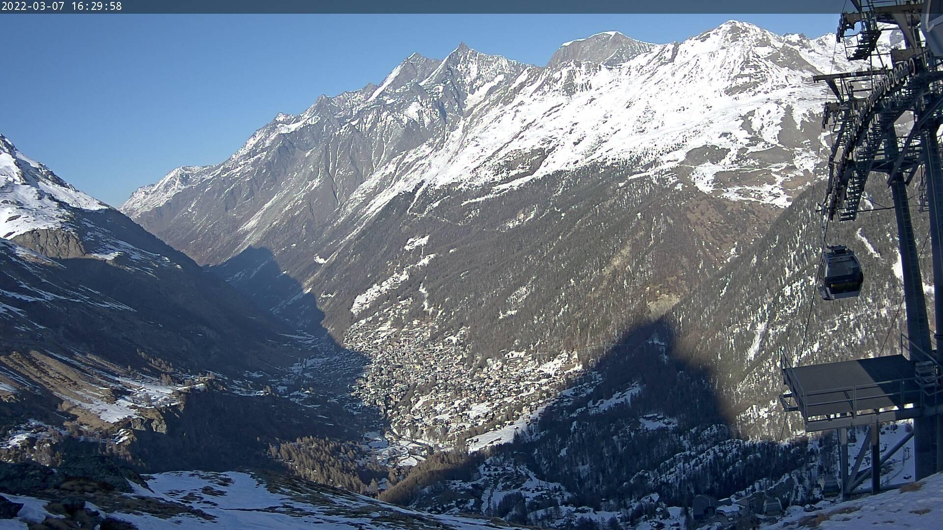 Zermatt: Webcam Aroleid