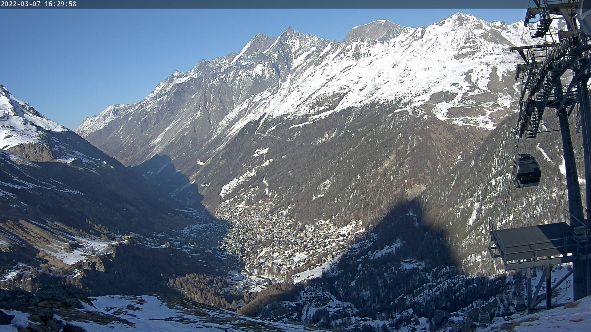 Zermatt: Webcam Aroleid