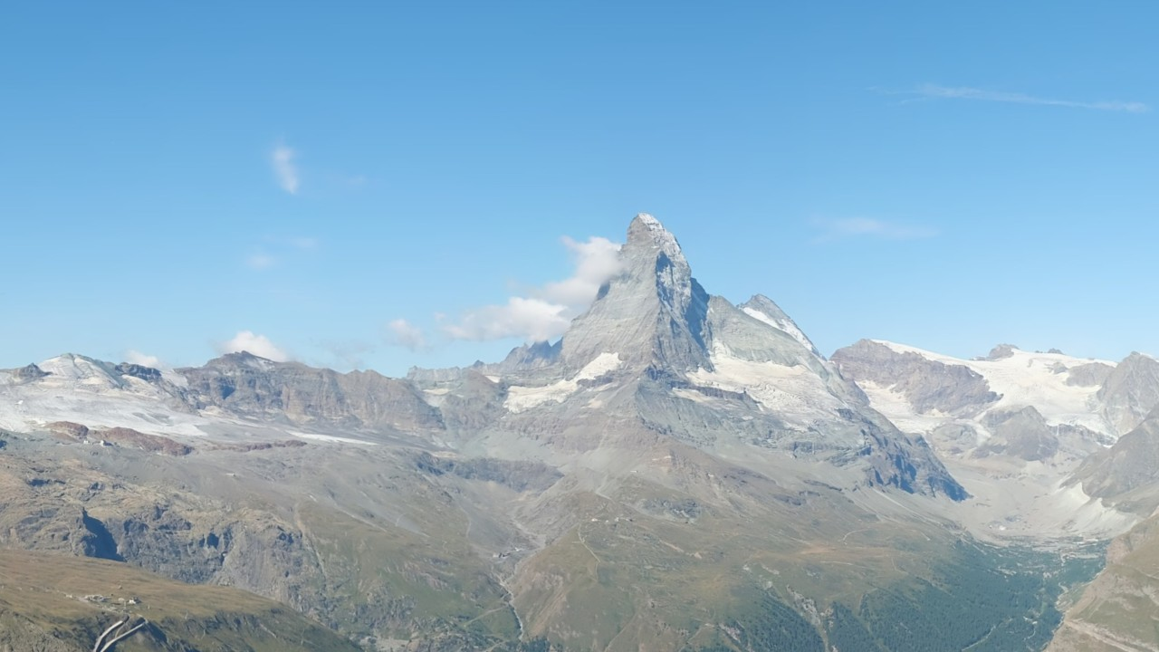 Zermatt: Webcam Rothorn