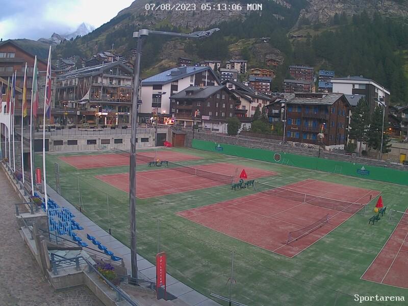 Zermatt: Webcam Sportarena
