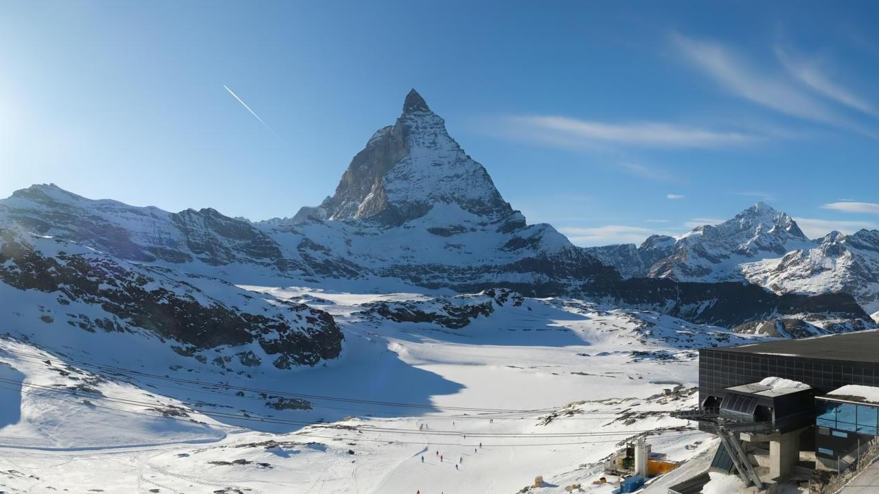 Zermatt: Webcam Trockener Steg